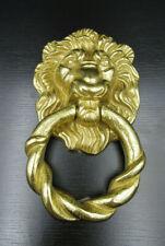 """K571⭐⭐ """" Löwenkopf """" Türklopfer-Türklingel Messing/Bronze ⭐⭐"""