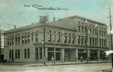 Centralia Illinois~Old Post Office~Haussler & Son~Furniture~Bell Telephone~1908