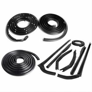 Metro Moulded SUPERsoft Basic Body Seal Kit 1957-58 Buick Oldsmobile Convertible