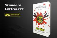 New Professional Disposable Sterilized 9M1 Tattoo Cartridge Needles 20pcs/box