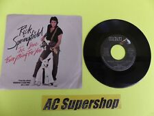 """Rick Springfield I've done everything for you - 45 Record Vinyl Album 7"""""""