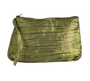 Olive Green Clutch Bag