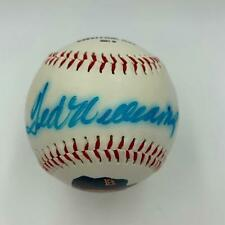 Ted Williams Signed Boston Red Sox Commemorative Baseball With JSA COA