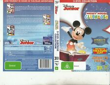 Mickey Mouse Club House-[3 DVD 208 Minutes]-Animated MMCH-3 DVD