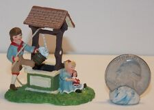 Department 56 Seasons Bay I'm Wishing Well  #53309 2 in tall K41 Dollys Gallery