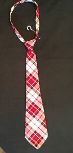 NWOT Boys Janie And Jack  Size 4T AND UP -  Red Fire Truck Tie  Sugg price 20.00