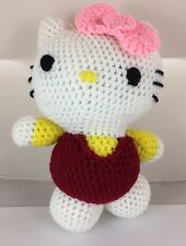 Hello Kitty Doll Toy Mascot Dressed In Pant Suit With Pink Ribbon, Ages 2+