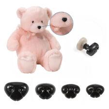 100Sets 4-Size Plastic Black Dog Noses Safety Eye Teddy Toy DIY Plush Toy Making