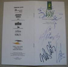 ECHO Signiert Verleihung 1997 Programm Original Unterschrift Signatur Autogramm