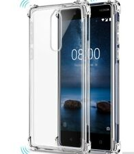 FUNDA gel tpu silicona Nokia 8  anti golpe transparente