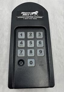 Mighty Mule Wireless Digital Keypad- no back