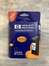 HP 51645A Inkjet Print Cartridge Large Black- Expired March 2001
