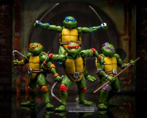Bandai S.H.Figuarts Teenage Mutant Ninja Turtles TMNT Leonardo Donatello Michela