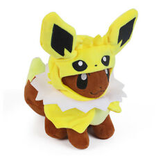 Pokemon Eevee Poncho Jolteon Thunders Costume Cape Stuffed Plush Doll 7inch