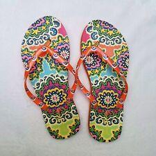 Vera Bradley Womens Size 8  Flip Flops Slippers Sandals
