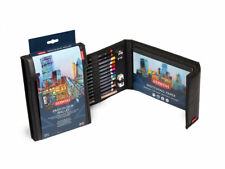 Derwent Procolour Professional Colour Pencils & Drawing Accessories Wallet Set