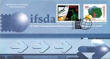 Albania stamps 2002. 50th ANNIVERSARY OF IFSDA . FDC Set MNH