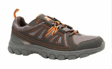 NEW Starter Mens Athletic Trail Hikers Shoes Size 7.5 Lightweight Gray Orange
