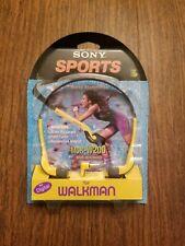 New Sony MDR-W20G Headphone Walkman Headband Water Resistant 90's Retro Vintage