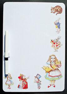 Alice in Wonderland Alice & Pig Memo Board -Dry Wipe Magnetic Memo Board AW2MB