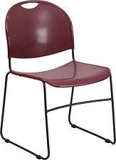Flash Furniture HERCULES Series 880 lb. Capacity Burgundy Ultra Compact...