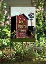 Chew Mail Pouch Barn  Garden Flag      Double Sided Soft Flag    FG1057