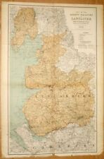 John Bartholomew Antique County Maps