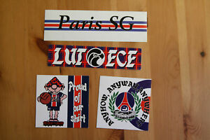 Stickers Autocollants PSG Paris Football Ultras Casual Lutece Falco 1991
