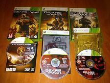 GEARS OF WARS 2 , 3 Y JUDGMENT    PARA XBOX 360