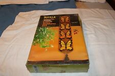 BUTTERFLIES-Wall Hanging Latch Hook Kit Mostly Sealed