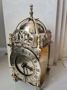 Smiths Lantern Clock Solid Brass