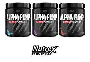 Nutrex ALPHA PUMP Ultimate Pump Booster 20 Servings