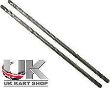 Track Rod Aluminium Hexagonal Gold 260mm x M8 /& Rod Ends Set Hex TonyKart Rotax