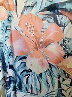 NWT LuLaRoe Hawaiian Flowers Hibiscus Shirley Coverup Overlay Chloe Black Small