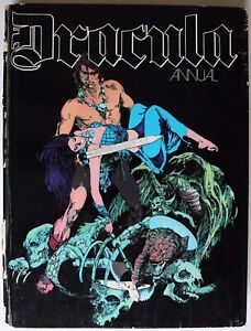 Book - DRACULA Annual Hardback Book New English Library Collected Graphic Novel