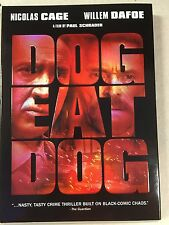 Dog Eat Dog  By  Nicolas Cage, Willem Dafoe  (DVD)