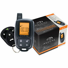 Avital 3305L 2-Way Car Alarm Security System Keyless Entry LCD Remote Brand New