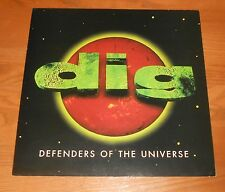 Dig Defenders of the Universe Poster 2-Sided Flat Square Promo 12x12 Rare