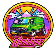 VTG Van 70s Dodge Ram vanning Custom Street Vans Macho Wagon DS T-shirt iron-on