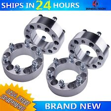4 PCS 6x5.5 for 2004-2012 Chevrolet Chevy Colorado 2 Inch Wheel Spacers