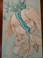 """""""Melting Mind"""" by Camilla d'Errico - Signed"""