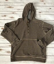 PATAGONIA Men's Wool Striped Pullover Sweater Long Sleeve HOODIE Size Medium M