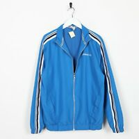 Vintage UMBRO Small Logo Zip Up Tracksuit Top Jacket Blue | Medium M