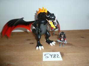 PLAYMOBIL 5482 Dragons Kampfdrache mit Feuer-LEDs  Asia Drachen Ritter Sammlung