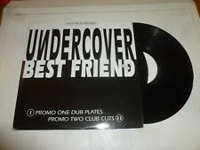 "UNDERCOVER - Best Friends - 4-track Double 12"" Vinyl Single - DJ Promo"