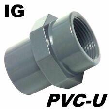 """PVC-U Fitting Adapter Gewindemuffe Durchmesser 110mm Klebemuffe auf IG """" ..."""