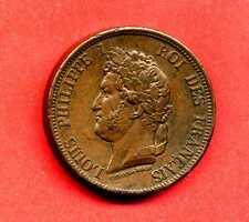 (CF 27) COLONIES FRANÇAISES 10 CENTIMES GUADELOUPE LOUIS PHILIPPE 1844 (SPL)