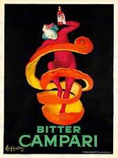 Pubblicità BITTER CAMPARI. 1921 ART PRINT posterhome Decor bb8058b