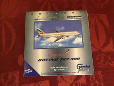 Etiope 767-300 Boeing Metallo Pressofuso Modello Livrea 1/400 Gemini Jets Nuovo
