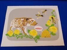 Jill Pilotte Rizzo Art Print Animal Vegan Pick Something Else Pig Bee Hives Fish